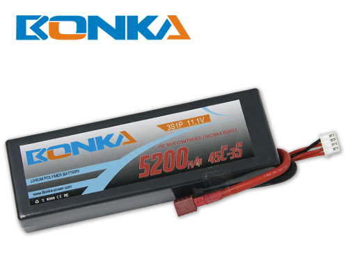 Bonka 5200mAH 45C 3S1P 11.1V  Lipo battery Packs