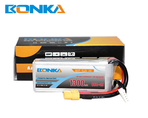 Bonka Power 1300mAh 80C 4S1P HV