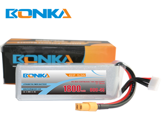 Bonka Power 1800mAh 80C 4S1P HV