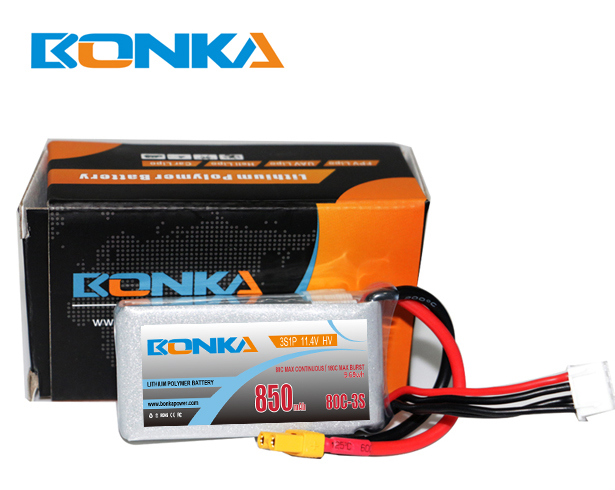 Bonka Power 500mAh 80C 3S1P HV