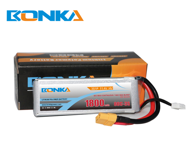 Bonka Power 1800mAh 80C 3S1P HV